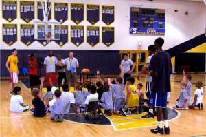 Basketball Class at Solon School